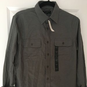 Banana Republic Standard Fit Grey Small Shirt